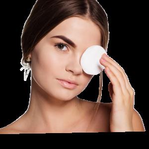 Čiščenje obraza in odstranjevanje ličil